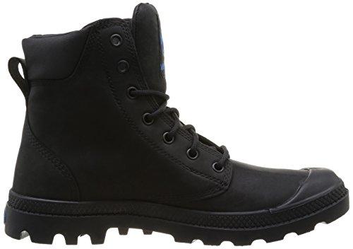 Palladium Spor Cuf Wplu Leather U Herren Stiefel Schwarz (Noir (315 Black))