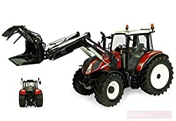 NEW UNIVERSAL Hobbies UH6206 Holland T5.120 Centenario with Front Loader 1:32