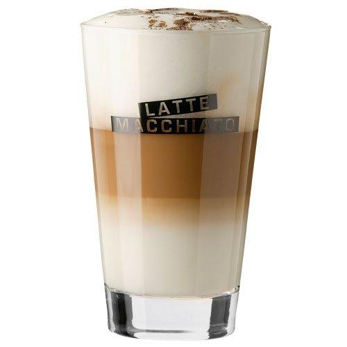 Latte Macchiato Glas 400 ml 6 Stück im Set