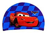 Kids Goods Best Deals - Tela de Cartoon Kids-Gorro de natación de natación de 2-10años, Cars Blue