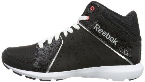 Reebok - Studio Beat Vi Mid Rs, Scarpe da atletica leggera Donna Nero
