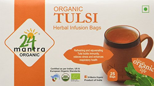 24 Mantra Tulsi Bags, 25 Tea Bags