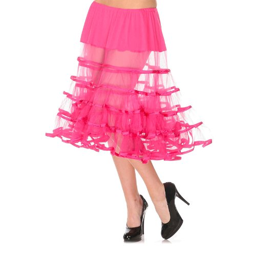 Voodoo Vixen Petticoat SEE THROUGH SKA3142 Pink