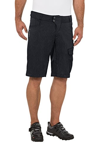 VAUDE Herren Hose Men's Tremal Zip Off Shorts, Black, L, 05509