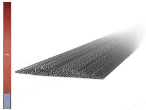 0,5 kg 1,4316 MT-308L V2A VA INOX varillas de soldadura / electrodos de alambre con 1,6 mm Ø x 1000 mm para acero inoxidable y alambres de alta aleación INOXIDABLE WIG / TIG Soldar