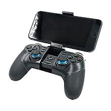 Mcbazel Contrôleur de jeu sans fil, contrôleur de jeu iPega PG-9156 2.4G Bluetooth pour Android / PC Windows