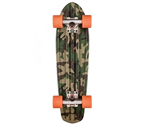 Globe Skateboard Bantam Graphic Camo/Orange, 24 (Skateboard Camo Wheels)