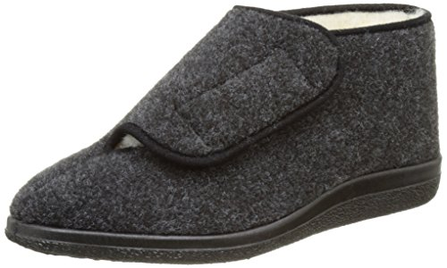Rondinaud Orthez, Chaussons Montants Homme Gris (06 Anthracite)