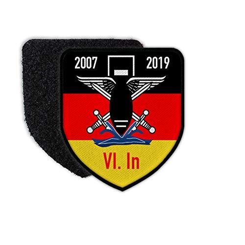 Copytec Patch BW 6 Inspektion BW Pionier Kampfmittelbeseitigung Ordnance Disposal #30725