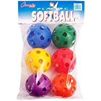 Champion Sports Plastic Softball Baseball Balls For Batting Practice Set Of 6 preisvergleich bei billige-tabletten.eu