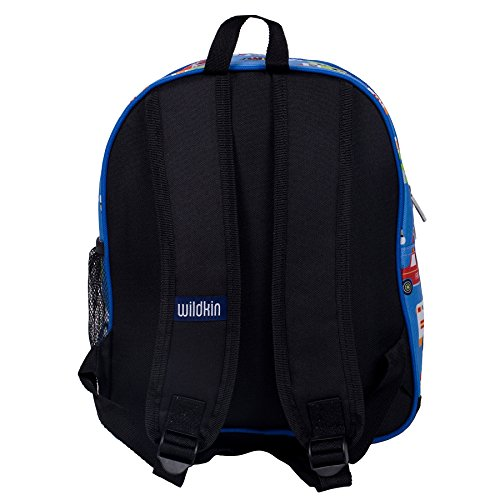 41dacICd3rL. SS500  - Wildkin Toddler Backpack-Action Vehicles, Polyester, Multi-Colour, Pack 'n Snack