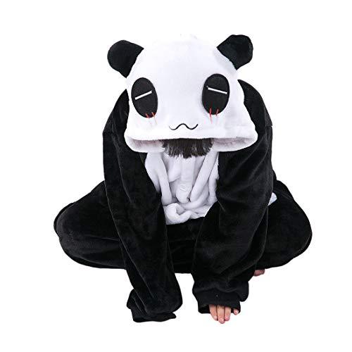 DarkCom Kinder Flanell Kigurumi Onesies Cosplay Jumpsuit Cute -