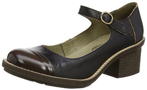 Fly London Women CODY877FLY Wedge Heels, Black (Black/Brown 000), 4 UK 37...