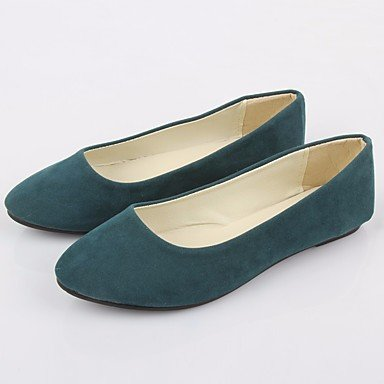 RUGAI-UE Sommer Mode Frauen Sandalen Schuhe Casual PU Komfort Heels Outdoor Wandern, Beige, US 8 / EU 39/UK6/CN 39 Green