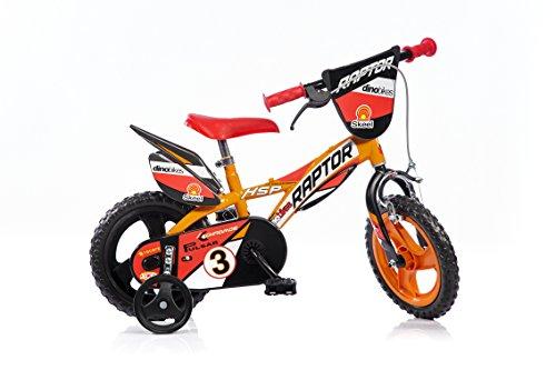 Kinderfahrrad Raptor Motorrad Kinderrad Fahrrad (12 Zoll) (Age Ice Disney)