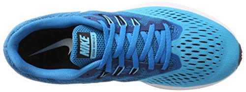Waffle Blu ginnastica da Scarpe blue da uomo white Trainer Furry Orbit black Air Blue Nike RZ5wqx8A8