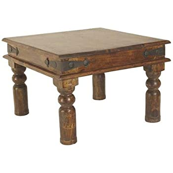 Indian Maharani Jali 60cm End Table