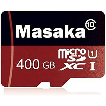 Tarjeta de Memoria Micro SD de 128 GB/256 GB/400 GB de Alta Velocidad Clase 10 TF con Adaptador SD Gratis 400GB