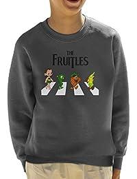 The Fruitles Abbey Road Frutties Beatles Kid's Sweatshirt
