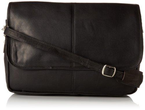 david-king-co-erweiterbare-messenger-bag-schwarz-one-size