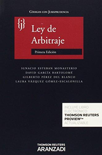 Ley de Arbitraje (Aranzadi) (Código con Jurisprudencia) por Aa.Vv.