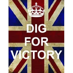 P2504 Dig For Victory Ww2 Union Jack Keep Calm And Carry