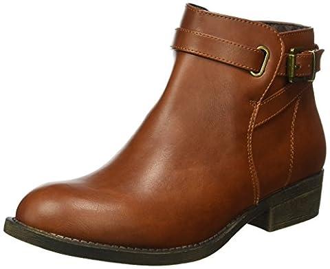 Another Pair of Shoes Damen AvaE1 Kurzschaft Stiefel, Braun (COGNAC1606), 39 EU