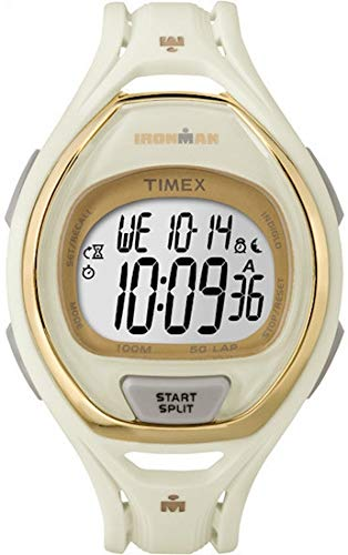 50 Full-Size White Sport Watch – Sport Uhr (White, Resin, Water Resistant, Resin, 100 m, 12h/24h) ()