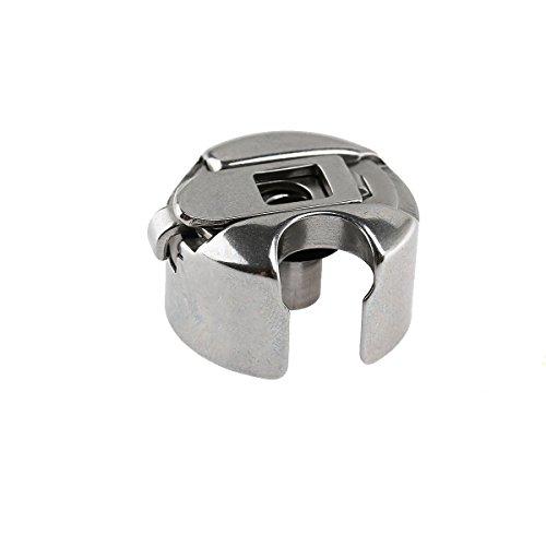 ULTNICE Sewing Bobbin Industrial Sewing Machine Bobbin Case (Silver)