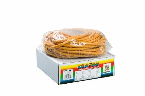 Power Tube, Widerstandstrainer für funktionales Training, Länge 30,5 m, Cando® Exercise Tube, gold (ultra schwer)