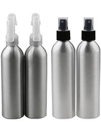 MagiDeal 4pcs Botella de Pulverizador de Aluminio de Niebla de Agua Atomizador de Perfume - 150ml