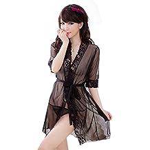 Lencería Mujer, Amlaiworld Vestido transparente de la ropa interior del camisón ...
