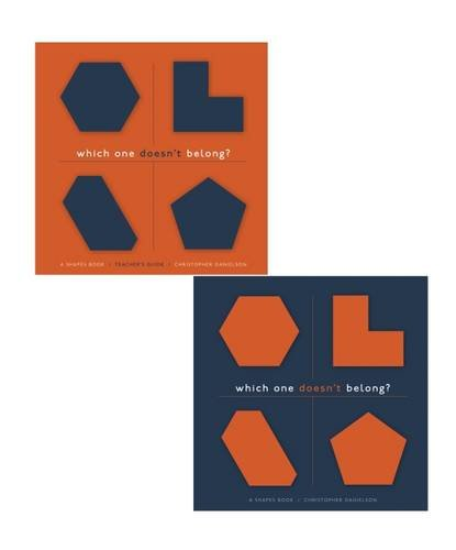 Which One Doesn't Belong?: A Shapes Book, Teacher's Guide with Student Book por Christopher Danielson