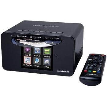 CocktailAudio X10 Micro-HiFi Anlage 3,5 Zoll schwarz