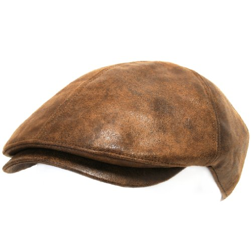 Ililily Flat Cap Vintage Cabbie Hat Gatsby Ivy Irish Hunting Newsboy Stretch-fit