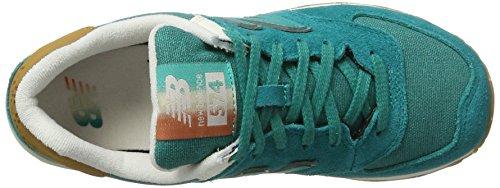 New Balance - Wl574seb, Scarpe da ginnastica Donna Blu (Turquoise)
