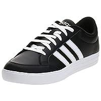 Adidas Vs Set Mens Sneakers, Black (Core Black/Ftwr White), 44 2/3 EU