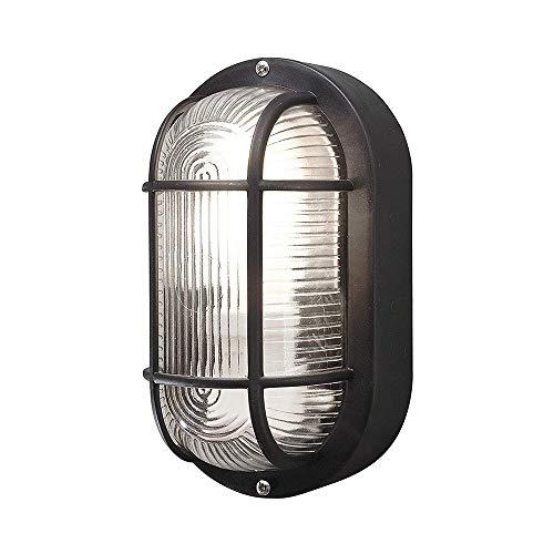 leuchte,Kunststoff Plastik Glas Wasserdicht, Aluminium + Milchglas Schlafzimmer Wohnzimmer Küche (ohne Glühbirnen) ()
