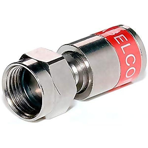 8 Stück Cabelcon F Stecker F Kompression Stecker 4 3 Mm Cabelcon Cx3 4 0 Baumarkt