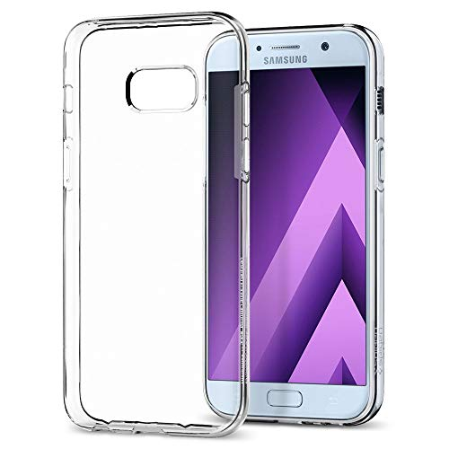 Spigen (573CS21144) [Liquid Crystal] Coque Samsung Galaxy A5 2017, Transparente Souple