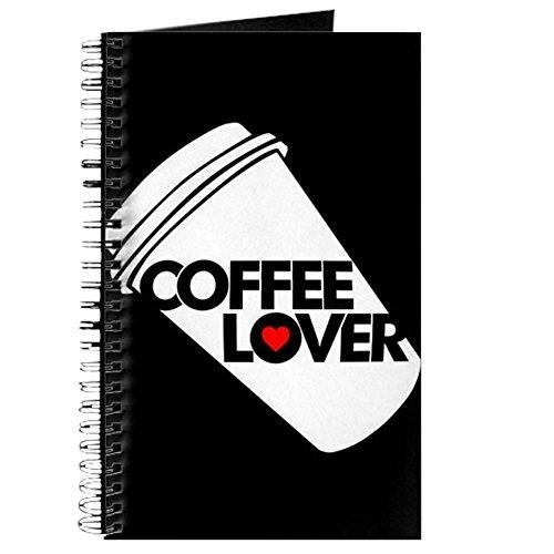 CafePress–Kaffee–Spiralbindung Journal Notebook, persönliches Tagebuch, Dot Grid (Die Draht-kaffee-tasse)