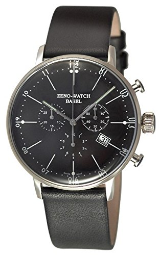 Zeno-Watch Herrenuhr - Bauhaus Chronograph Quartz - 91167-5030Q-i1