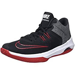 Nike Air Versitile II, Zapatos de Baloncesto para Hombre, Negro (Black/White-Gym Red 002), 41 EU
