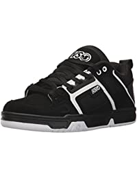 Zapatos Dvs Comanche Negro Gris Leather (Eu 42.5 / Us 9 , Negro)