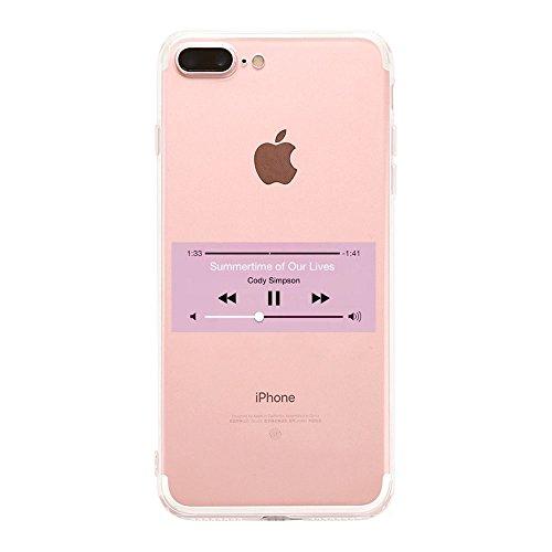 Vanki® Coque iPhone 7 Plus, Housse TPU Souple Etui de Protection Silicone Case Soft Gel Cover Anti Rayure Anti Choc pour iPhone 7 Plus 5.5Inch 2