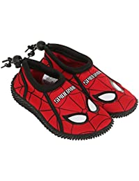 Spiderman Garçon Chaussures en néoprène 2016 Collection - rouge