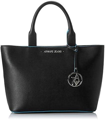 Armani Jeans Women's 922531CC856 Top-Handle Bag black Schwarz (NERO 00220)