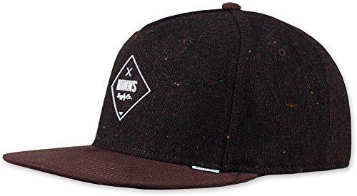 DJINNS - Felt Rubber (coffee) - Snapback Cap Baseballcap Hat Kappe Mütze Caps