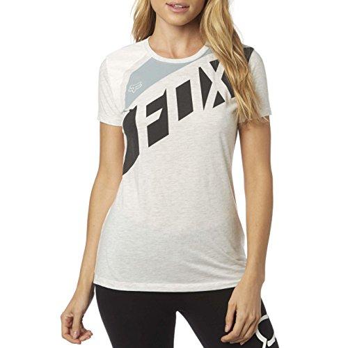 Fox Girls T-Shirt Seca Crew Hellgrau meliert Light Heather Grey