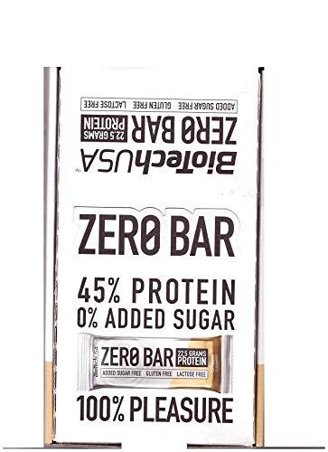 Biotech usa - barretta zero bar 20 barrette da 50g - cappuccino